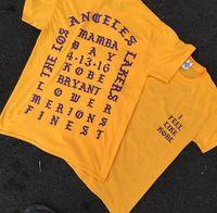 Wholesale Hot Sale Yeezus T Shirt I Feel Like T Shirts Men Kobe Retire Commemorative Mamba Wear Hip Hop Sport Tees Tops Kanye West Clothing