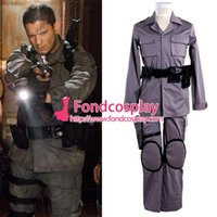 afterlife resident - Resident Evil Afterlife Chris Redfield Suit Jacket Pants Movie Cosplay Costume Custom made