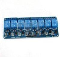 Купить Plc панель-С Оптрон 8 каналов 8-канальный модуль панели управления 5V Реле Щит PLC Реле 5V модуля Другие электронные компоненты