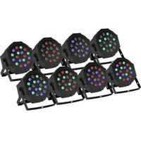 Wholesale 8Pcs Par x3W RGB LED Stage Light Uplighting