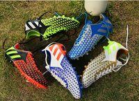 Wholesale unisex AG Men soccer boots soccer Cleats Soccer Shoes Football Shoes soccer cleats football boots