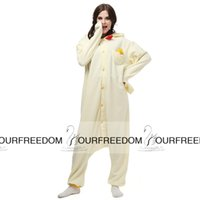 adult chicken costume - AC001 In Stock Chicken Anime Cartoon Cosplay Party Costumes Comfy Leisure Animal Onesies Pajamas Jumpsuit Teens Adults Homewear Cheap Sale