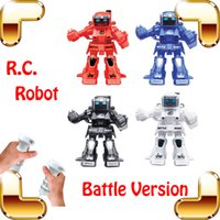 Wholesale New Coming Gift Somatic Game G RC Battle Robot Fighting Machine Electric Remote Toys Model Children Cool Entertainment