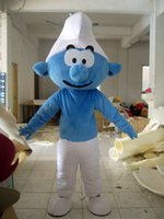 Wholesale High quality sale smurf mascot costume for mascot costume elves adult size