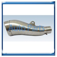Wholesale Shape stainless steel Universal motorcycle Exhaust Muffler