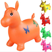 Wholesale 50cm Ride On Animal Toys Jumping horse good quality no harm to baby good gift for kids