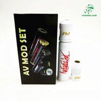 av setting - Able V2 Kit Able Mod Clone AV Mod Set with AV Torpedo Cap Combo RDA Limited Edition Fit Battery DHL Free