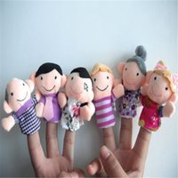 Wholesale Christmas refers to even the lovely cartoon character modeling finger even Christmas Children s Day story teaching aids