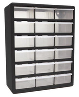 Wholesale 18 Drawer Plastic Parts Bin Organizer Storage Drawers