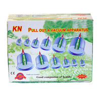 Wholesale Chinese Health Care Medical Vacuum Apparatus Body Cupping Set Portable Massage Therapy Kit Body Relaxation Healthy Massage Set