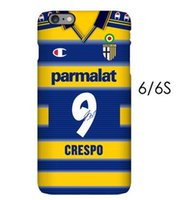 phone number - Parma jersey phone case Crespo Cannavaro customize name and number For Iphone s plus