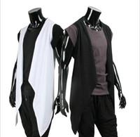 Wholesale 2016 spring Autumn personality Men Casual knitwear Men s Long knitting shirt fashion cardigan cloak for male Asia S XXL