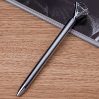 Wholesale New Pen with Crystal on the top new design crystal pen in china