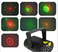Wholesale Mini Red Green Moving Party Stage Laser Light Projector AC V High Quality