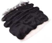 Wholesale Top Quality Peruvian Body Wave Lace Frontal to Human Hair Lace Closure Peruvian Virgin Hair Lace Closure Body Wave