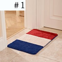 Wholesale Flag Microfiber Chenille Bath Mat luxury Superabsorbent Mat Anti slip Mat Ecofriendly x23 CMX60CM