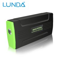 Wholesale USB mAh Portable Car Battery Jump Starter Multi Function Power Supply high power mobile strobe SOS lighting