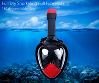 Wholesale Underwater Diving Mask Snorkel Set Full Face Snorkeling Mask Anti Fog For Camera