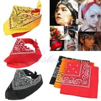 american handkerchief - new Men s Women s HipHop Headband variety Bandana Cotton Bandana Handkerchief Ameba Headwrap Bikers Scarf Headband hairband neckerchife mask