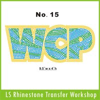 Wholesale Hot fix WCP rhinestone custom workshop offer high rhinestone quanlity and best price for any designs