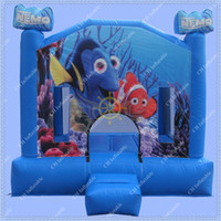 Wholesale Nemo Inflatable Bouncy Castle ft Inflatable Jumping Castle Cheap Small Inflatable Castle Indoors Bouncy Castle for Kids