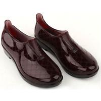 Wholesale Hot Sales Women s Short Ankle Rain Boots Waterproof PVC Rubber Rain Shoes Water Shoes KX0013