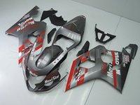 telefonica - Fairings For Suzuki GSXR600 GSXR600 K4 ABS Motorcycles Fairing Kit Bodywork Full Cowlings Telefonica Gray