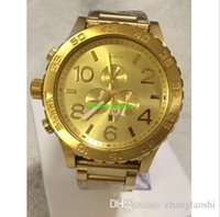 Wholesale New CHRONO NIXO Chrono All Gold Chronograph Mens Watch A083 Watch original brand