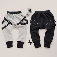 Wholesale New Girls Boys Cool Binding Harem Pants KIKIKIDS Children Clothing Girls Harem pants