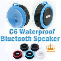 Wholesale Outdoor Waterproof Dirstproof Shockproof bluetooth Wireless Silicon Handfree MIC Voice MINI Speaker Louder for smartphone mp3 in car