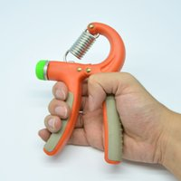 Wholesale Adjustable KG Forearm Exerciser Heavy Hand Wrist Power Strength Sports Training Fitness Muscle Orange Durable