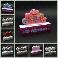 art birthday cakes - 100pcs Cartoon Happy Birthday Candle Cute Decor Party Cake Candle Princess Minions Spider man Car Minnie Creative Candles LJJL86