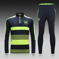 Wholesale Arsenal training suit16 Arsenal tracksuits Arsenal sportswear ALEXIS OZIL RAMSEY Arsneal sweater and tight pants