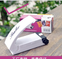 airtight food bags - Sealing Machine Vacuum Food Sealer Vacuum Sealer Brand Handheld Super Mini Sealing Airtight Sealer with Magnetic Base for Plastic Bag