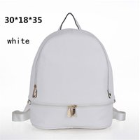 Wholesale Tiny Lovely Womens Backpack Soft PU Plain Ladies Bags Zipper Casual Elegant Design Backpack for Party handbag