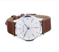 anticlockwise watch - Brand Classic Fashion Casual Business Watch Men s Anticlockwise Quartz Leather Strap Wrist Watches Life Waterproof Cheap watch strap rubber