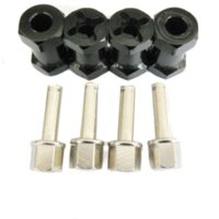 antenna combiner - 1 Set Aluminum HEX mm longer combiner climbing simulation Car mm coupler AL For TAMIYA CC01 AXIAL SCX10 Upgrade Parts