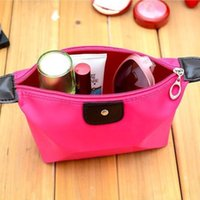 Wholesale Simple makeup bag fashion Waterproof travel bag cosmetic organizer make up storage for women Z00279