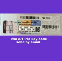 Wholesale 2016 brand new win8 pro key code bit and bit OEM Online activation work send by eamil