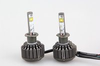 Wholesale by dhl or fedex pack H1 LED car headlight V W LM Xenon White DRL Parking Fog Head Lamp K Bulb For Car Styling