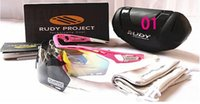 aluminum project box - 2016 Project TRALYX Sunglasses Mens With Oginal Boxes Rudy Glasses Sports glasses riding Polarizing Cycling Eyewear