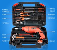 Wholesale 26items MM Electric drill kit household Electrician woodworking tools maintenance household screwdriver wrench multi function