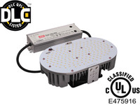 Wholesale 80W W W UL DLC LED retrofit kit K for HID shoebox light street light replacement stocked in USA warehouse
