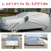 Wholesale Universal Car Styling Anti UV Car Cover Dustproof Car Clothes Vehicle Scratch Proof SUV Surface Protector Full L XL