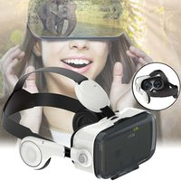 Wholesale 3D VR Virtual Reality VR Z4 Glasses Box Google headphone For iPhone Samsung video game virtual reality hd vr glasses SNS