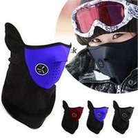 Wholesale New Neck Warm Half Face Mask Sport Bike Riding masks Bicycle Motorcycle Ski mask Windproof cycling equipment