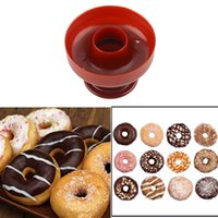 baking doughnuts - Hot Donut Mold Cake Desserts Bread Plunger Cutter Doughnut Tool baking fondant silicone Mould