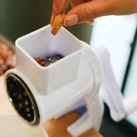 Wholesale Nut Broken Machine Nut grinder Dried fruit hasher cs Nut Grinding Machine nut grind tool