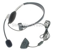 Wholesale NEW HEADSET HEADPHONE MICROPHONE FOR XBOX LIVE