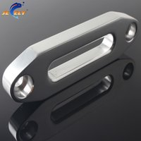 atv winch fairlead - LBS Synthetic Winch Rope SUV ATV UTV Alumimum Hawse Fairlead Original Color